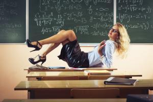Rollenspiel Lehrerin
