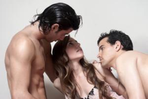 Sex zu dritt Dreier-Vorbereitungen