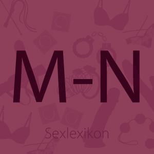 Bild Sexlexikon Buchstaben M und N