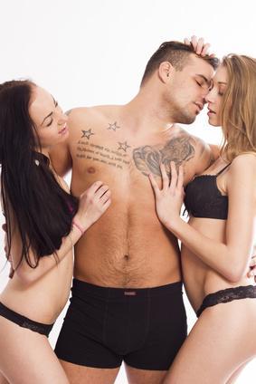 Gruppensex mit mehreren Frauen