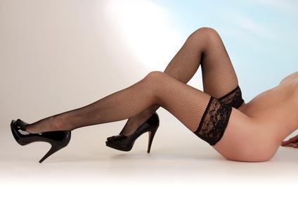Nylon Fetisch High-Heels