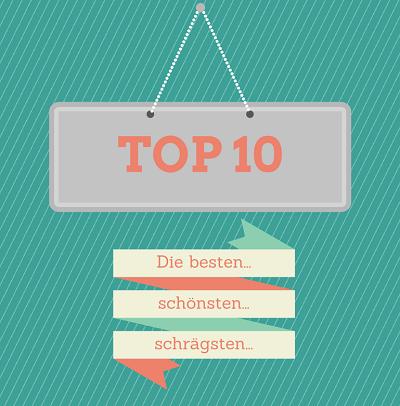 Die besten Top10 Listen