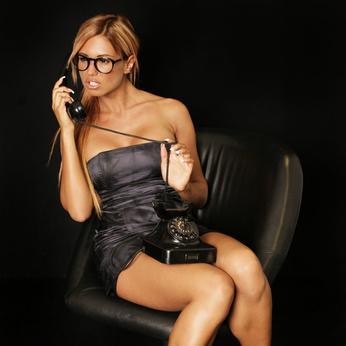Bild Frau Telefonsex Verführung