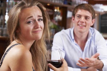 Blind Date im Restaurant