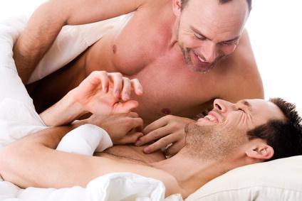 Schwules Paar Prostata Massage