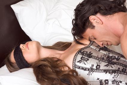 Sex mit verbundenen Augen