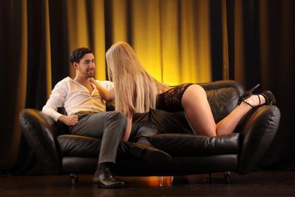 Erfolg beim Sexdate mit gemütlicher Einrichtung