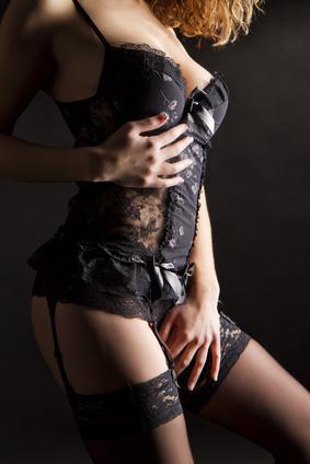 Sexy Dessous eignen sich besonders, wenn es intimer wird.