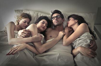 Ein Vierer ist für viele Paare eine erotische Abwechslung.