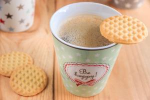 Bild Kaffee und Kekse
