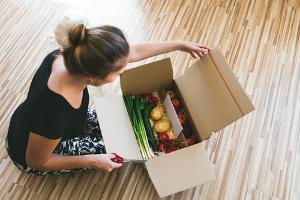 Bild Lebensmittellieferung per Paket