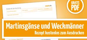 Grafik Martinsgänse und Weckmänner PDF