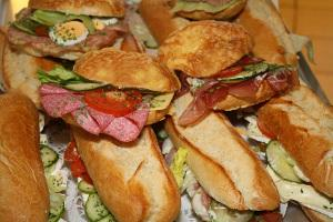 Bild Sandwiches als Verpflegung