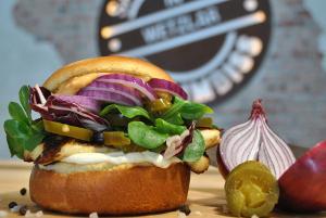 Bild vegetarischer Burger