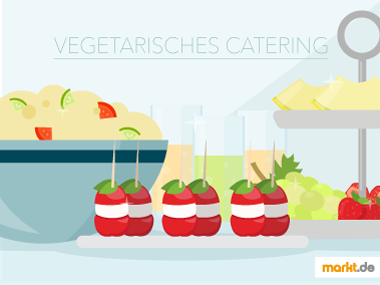Grafik vegetarisches Catering