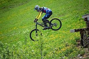 Bild Bikepark Sprung