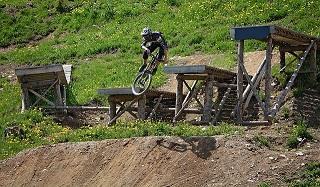Bild Bikepark Schanze