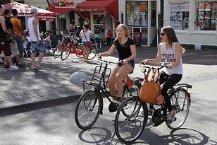 Bild Fahrrad Stadt