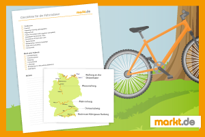 Grafik Fahrradtour