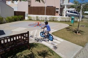 Kind Radfahrausbildung