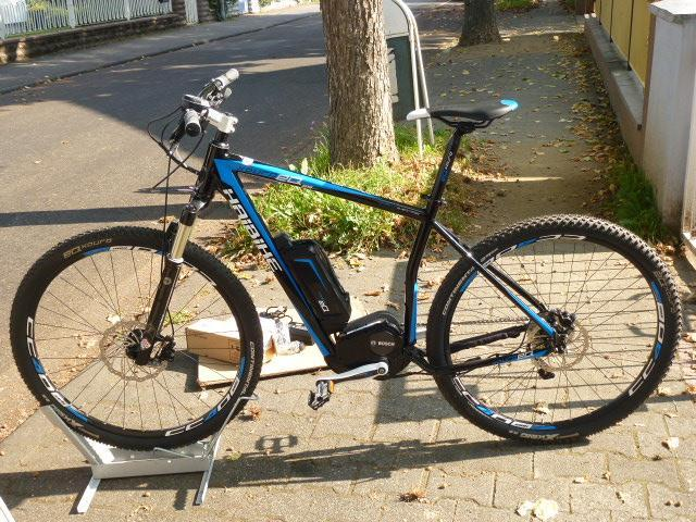 Elektrofahrrad Stadt Mountainbike