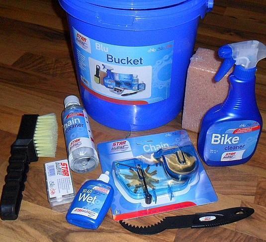 Bild Fahrrad Reinigung Reinigungsmittel