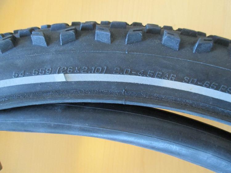 Bild Fahrradmantel und Schlauch