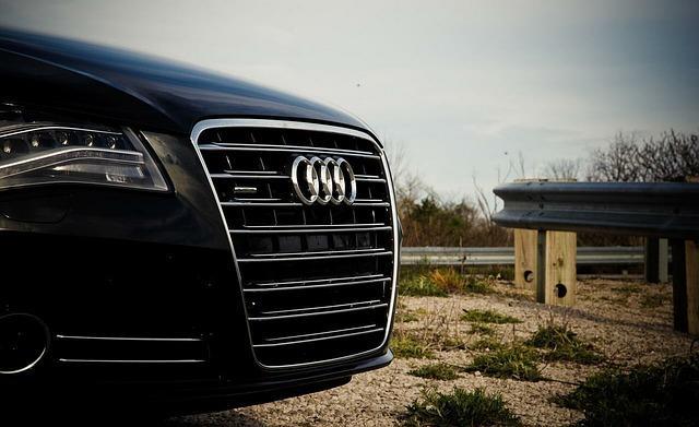 Bild schwarzer Audi