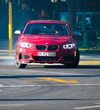 Bild roter BMW