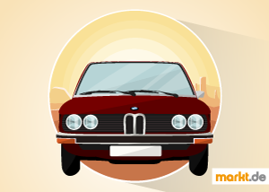 Grafik BMW E12