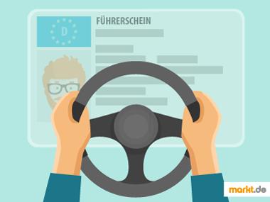 Grafik Fahrstunden für Führerschein