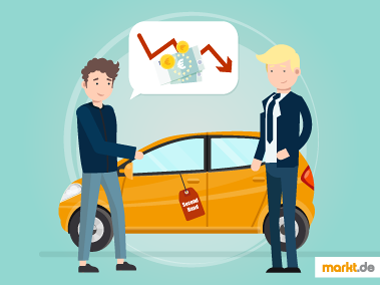 Grafik Gebrauchtwagenpreis verhandeln