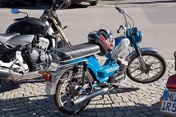 Bild Moped