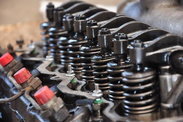 Bild Einspritzdüse in Motor