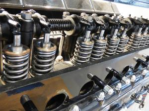 Bild Nockenwelle im Motor eingebaut