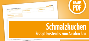 Grafik Download Rezept Schmalzkuchen