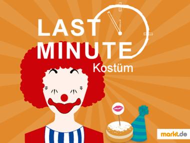 Bild Last Minute Kostüm