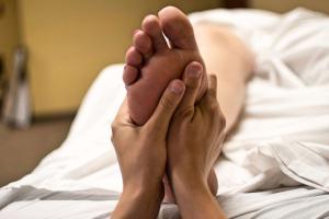 Fußerotik Fußmassage