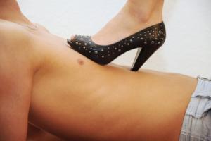Trampling mit High Heels
