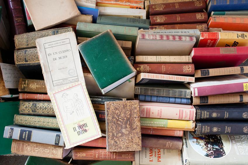 Bild Bücher Flohmarkt