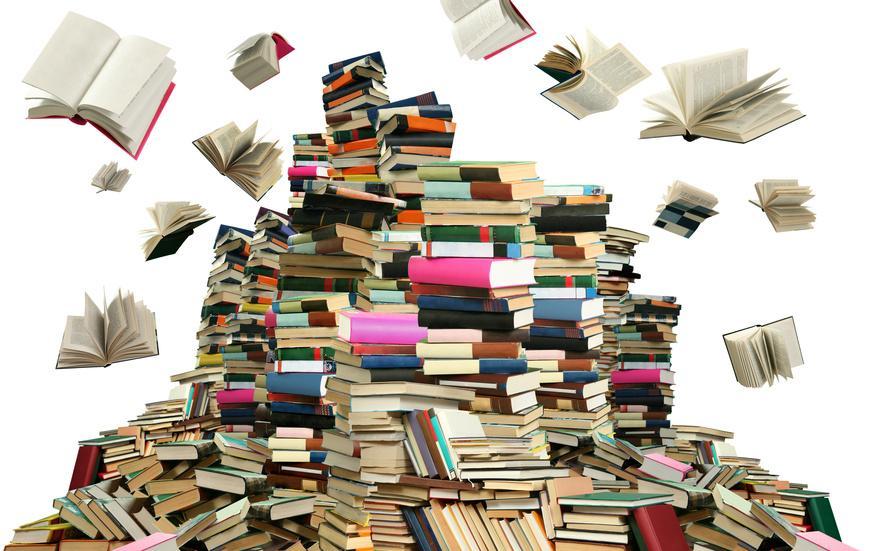 Bild Flohmarkt mit Büchern