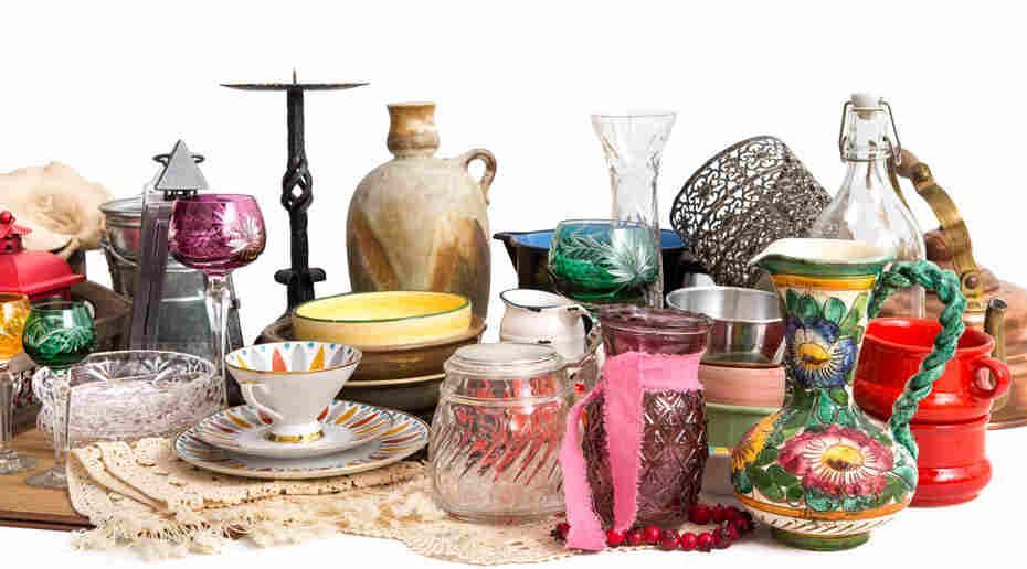 Bild von Antiquitäten und Trödel