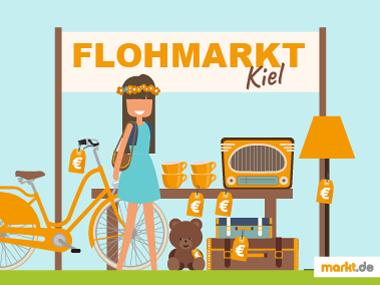 Grafik Flohmarkt Kiel