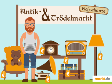 Grafik Antik- und Trödelmarkt Flohschanze