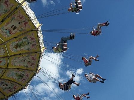 Bild Freizeitpark Karussel