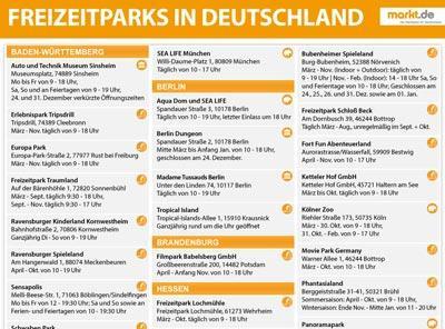 Bild Freizeitparks Deutschland