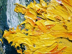 Bild Überlagernde Ölfarben