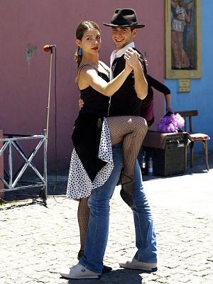 Tanzendes Tanzpaar