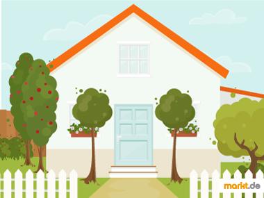 Grafik Bäume für kleinen Garten