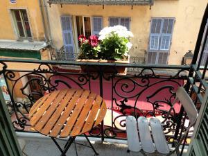 Bild Balkon Möbel